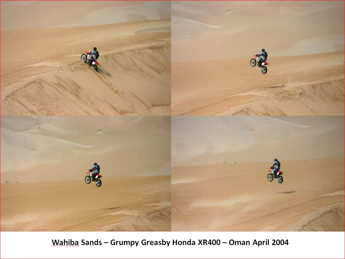 The big dune jump sequence